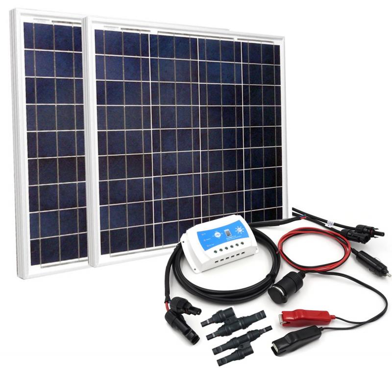 100W Solar Power Charging DIY Kit