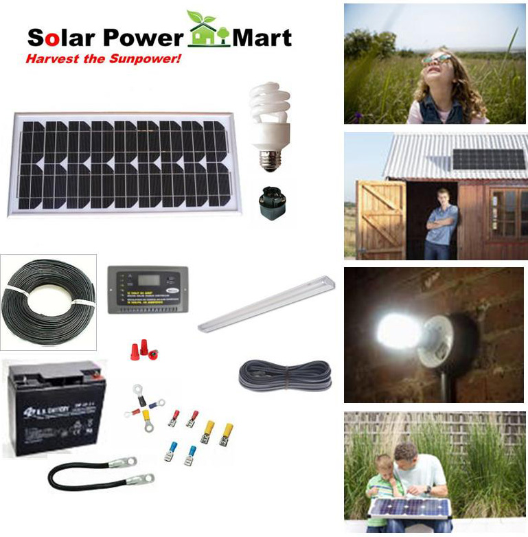 20W Solar Energy DIY Starter Kit