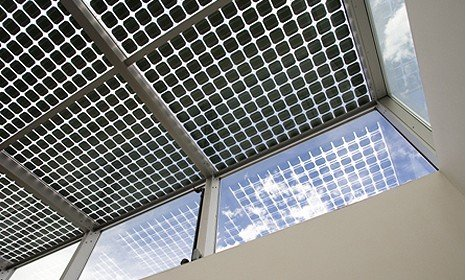 Transparent BIPV Solar Panel