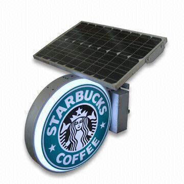 Solar Ads Light Box