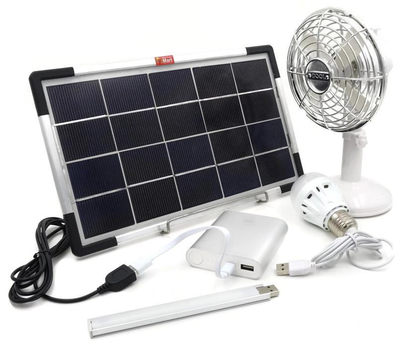 Solar Power Lithium USB DIY Kit