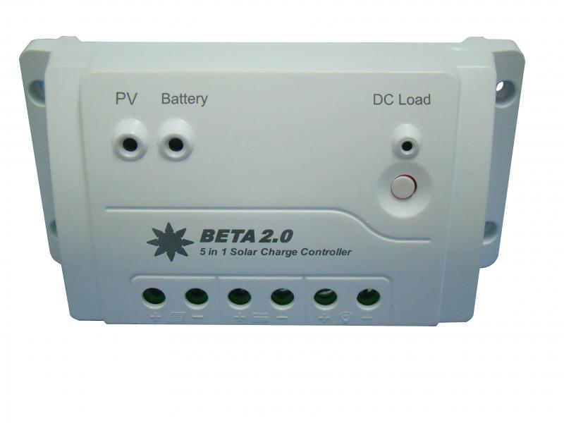 BETA 2.0 Solar Charge Controller for Lithium