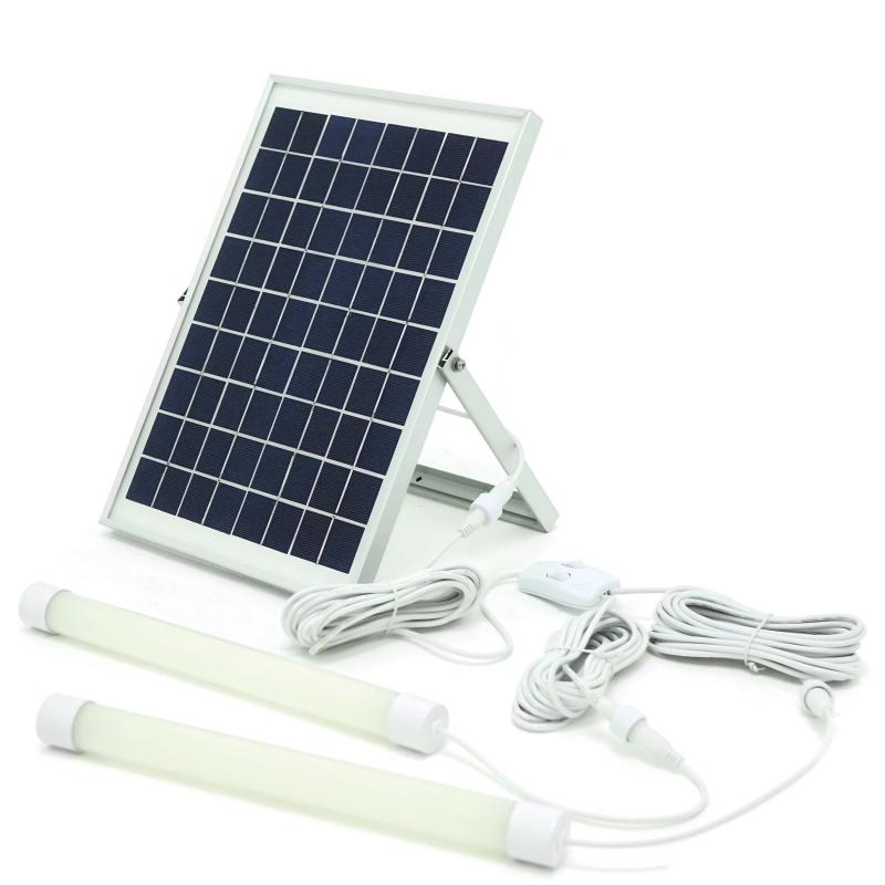 10W DIY Solar Lithium Lighting Kit