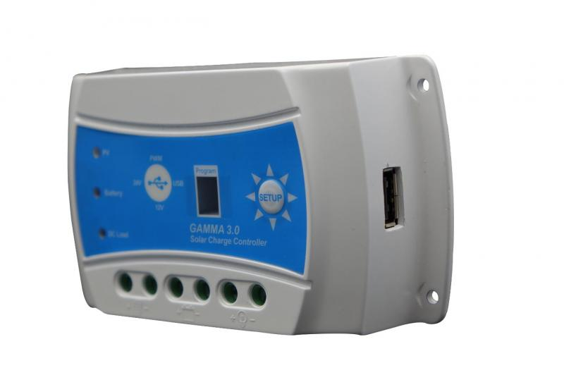 GAMMA 3.0 USB Solar Charge Controller