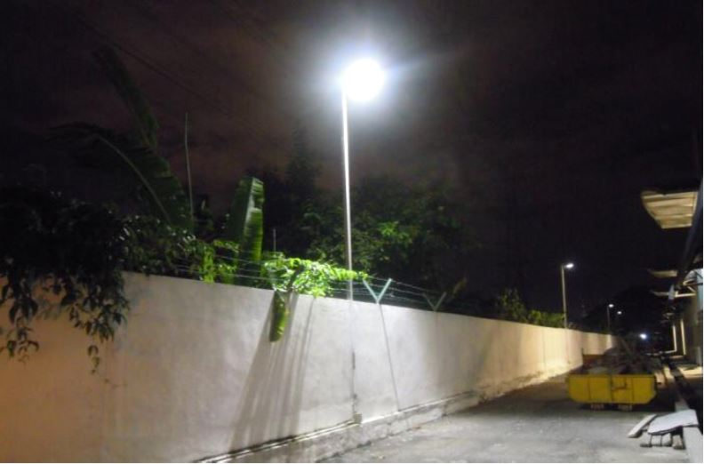 Institute MARA Solar Omega Street Light