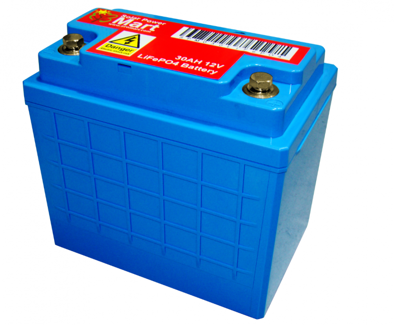 LiFePO4 30AH 12V AGM Battery Case