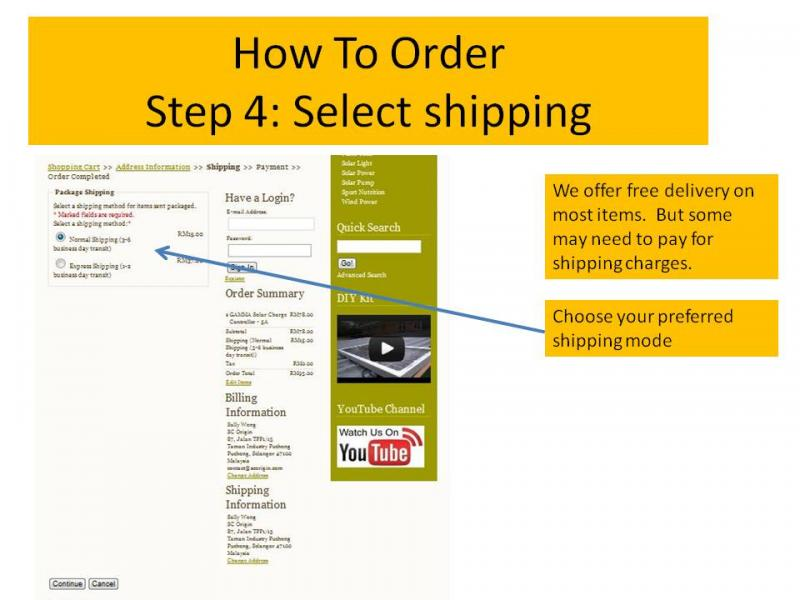 How to Order 4