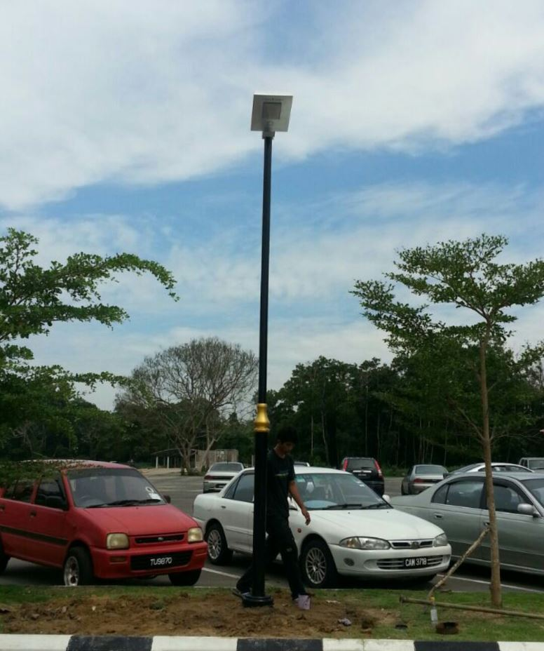Solar Omega Street Light Pahang Golf Course Car Park