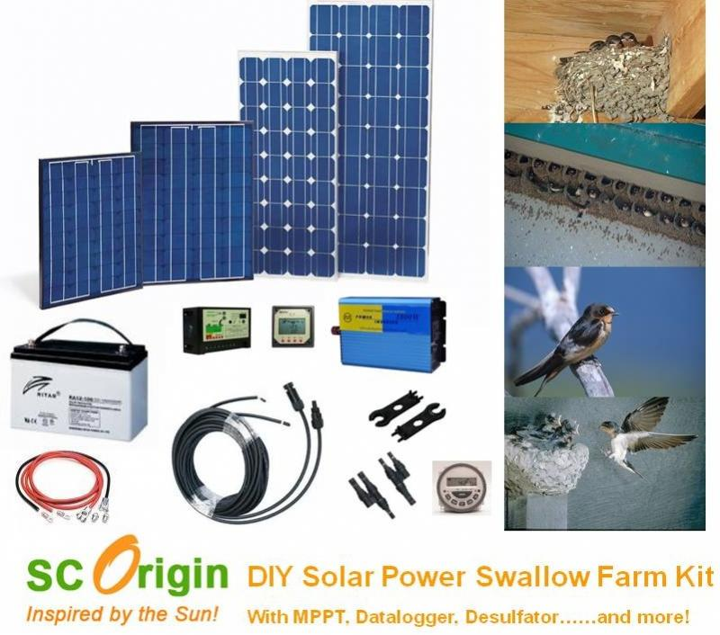 Solar power mart diy kit solar power green lighting remote solar power swiftlet farm kit solutioingenieria Choice Image