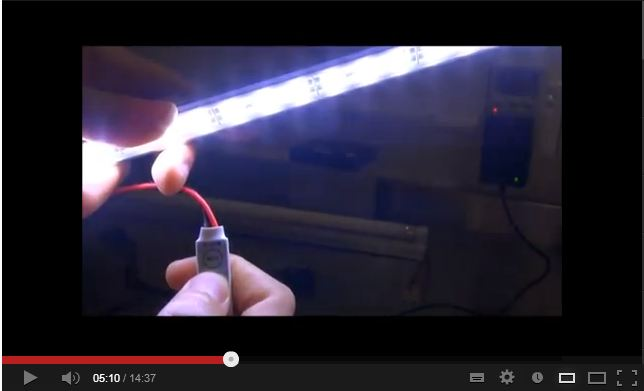 YouTube - 9W LED 12V Tube Light