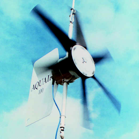 Aquair 100W Hydro & Wind Turbine